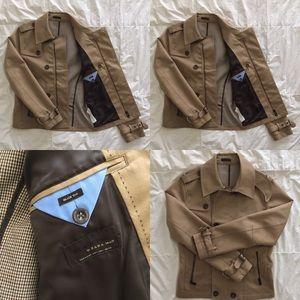 ZARA short trench style 🧥 slim fit jacket